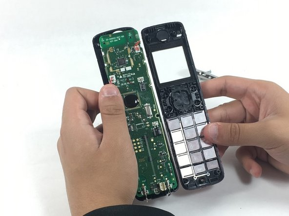 Image 1/1: You will notice the button covers, these display the numerical values and positions of each button