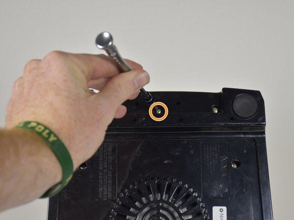 Unscrew the Torx Security #10 11mm screw.