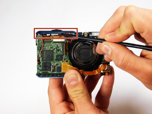 Use your Heavy-Duty Spudger to remove your faulty shutter piece.