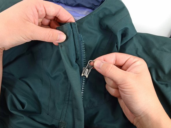 replace the slider on a plastic tooth zipper ifixit repair guide. Black Bedroom Furniture Sets. Home Design Ideas