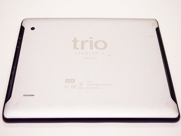 Trio STEALTH-9 Back Cover Replacement