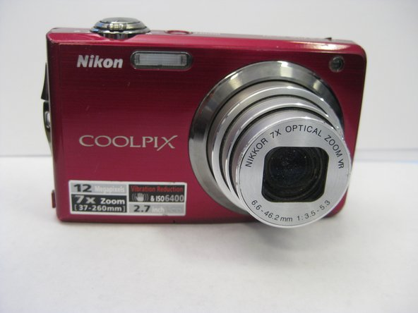 Nikon Coolpix S630 Shutter Button Replacement