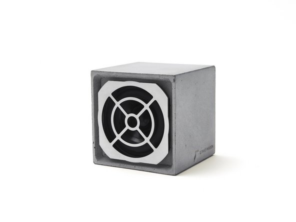 Le Pavé Parisien V1: Replacing the loudspeaker