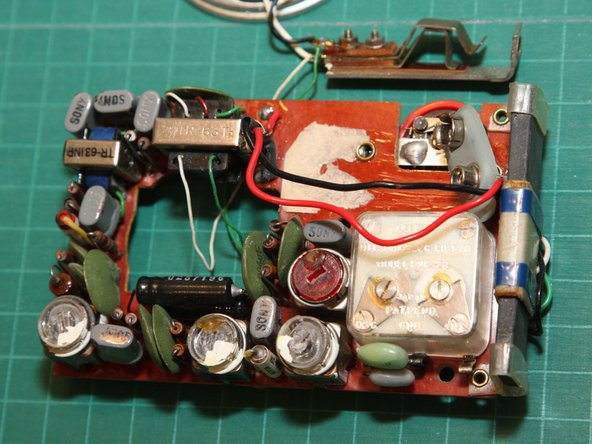 Here's the component side of the circuit board.