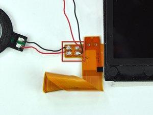 Oberes LCD