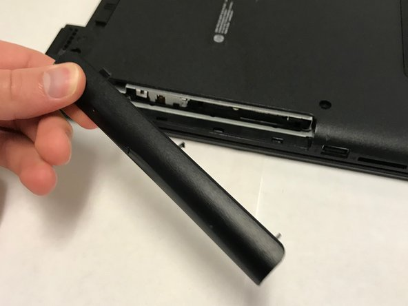 Locate the CD Compartment panel and gently slide it out.