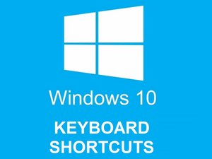 Windows 10 Keyboard Shortcuts Part 1