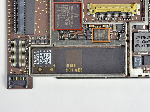 Image 1/2: Broadcom BCM5973KFBGH Microcontroller used for touchscreen