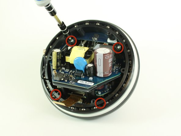 View the bottom half of the Nexus Q.