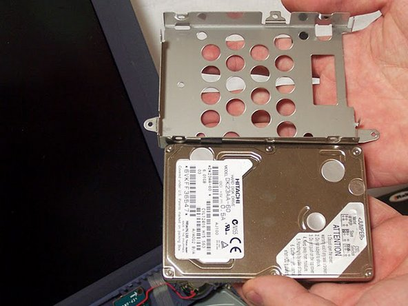 The Hard Drive is now exposed.  You are now free to replace it, clean it, or repair it.