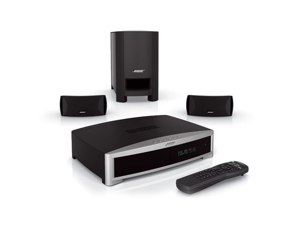 bose 3 2 1 home entertainment system repair ifixit. Black Bedroom Furniture Sets. Home Design Ideas