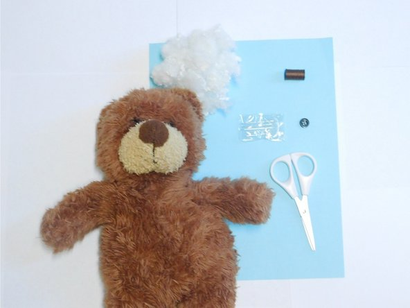 How to Repair a Stuffed Teddy Bear