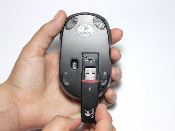 Take the USB wireless receiver.