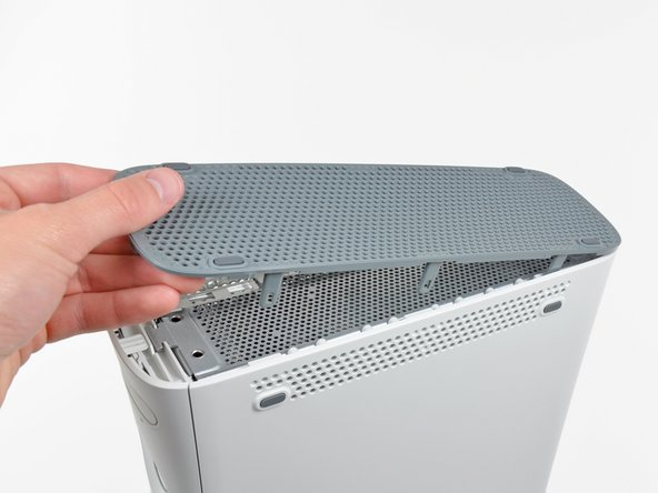 Remove the bottom vent from the 360.