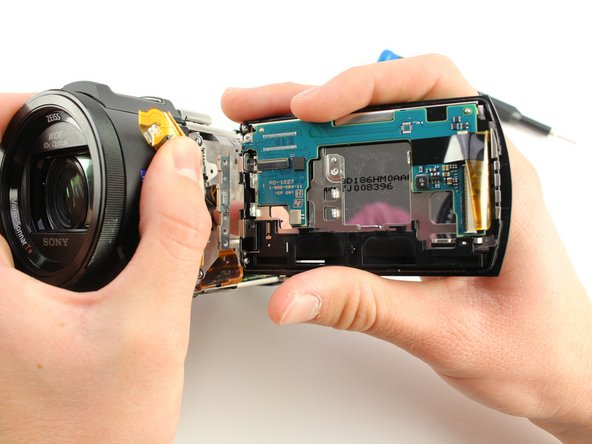 Sony Handycam FDR-AX33 LCD Screen Replacement