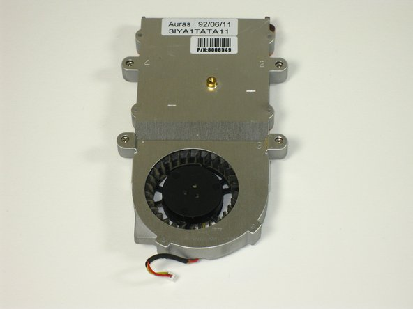 Gateway 600YG2 System Fan Replacement