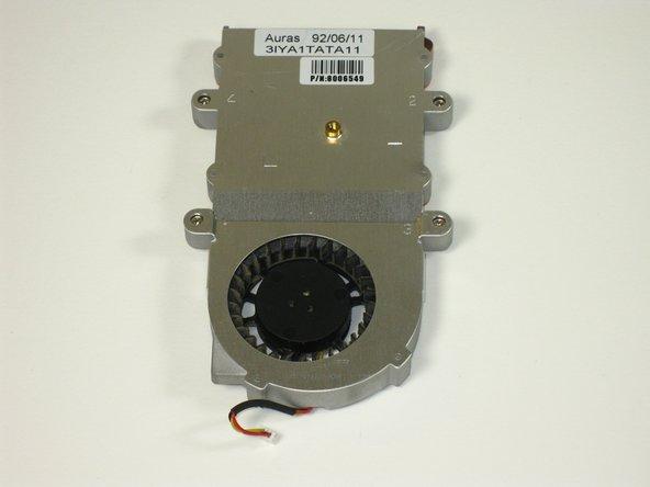 Remplacement du ventilateur du Gateway 600YG2