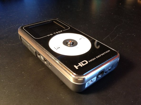 This camcorder is a 720p HD camcorder that costs very little.