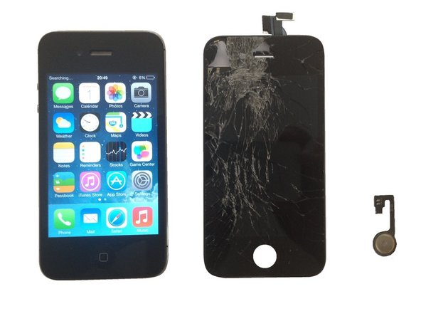 iPhone 4S - Display & Touch screen, Home Button Replacement