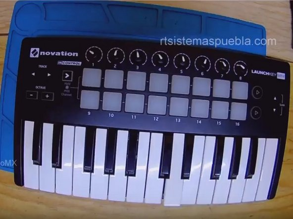 How to clean Novation Launchkey mini mk2