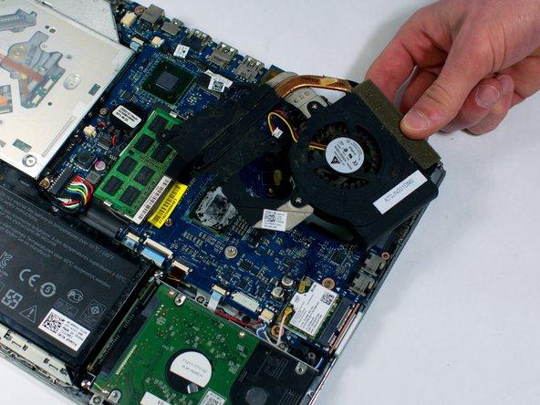 Dell XPS 14Z L412Z  Fan Replacement