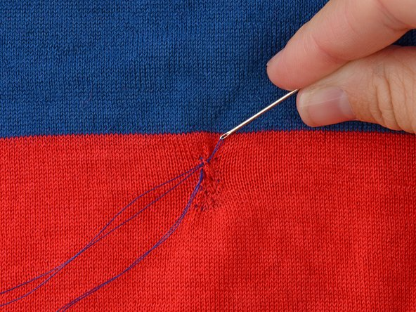 Don't forget to pull the thread taut after each stitch.