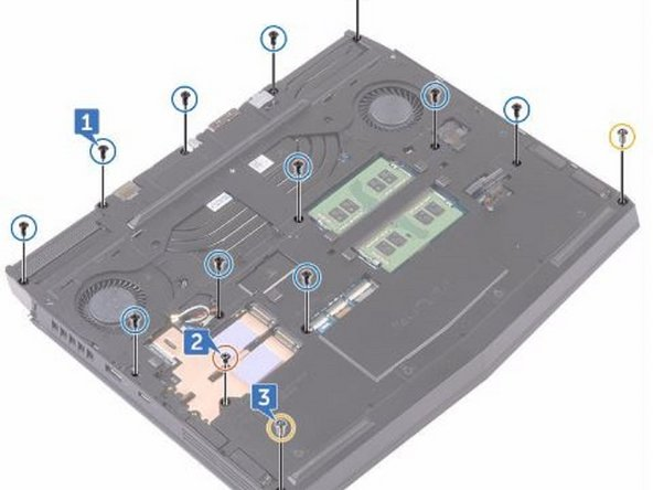 Dell Alienware 13 R3 Computer Base Replacement