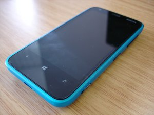 Repairing Nokia Lumia 620 On / Off Swith