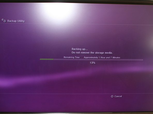 Image 2/2: Make sure it's formatted FAT32. The Playstation 3 backup utility will not recognize any other file system.