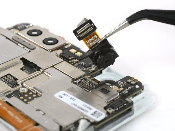 Unplug the camera connector.