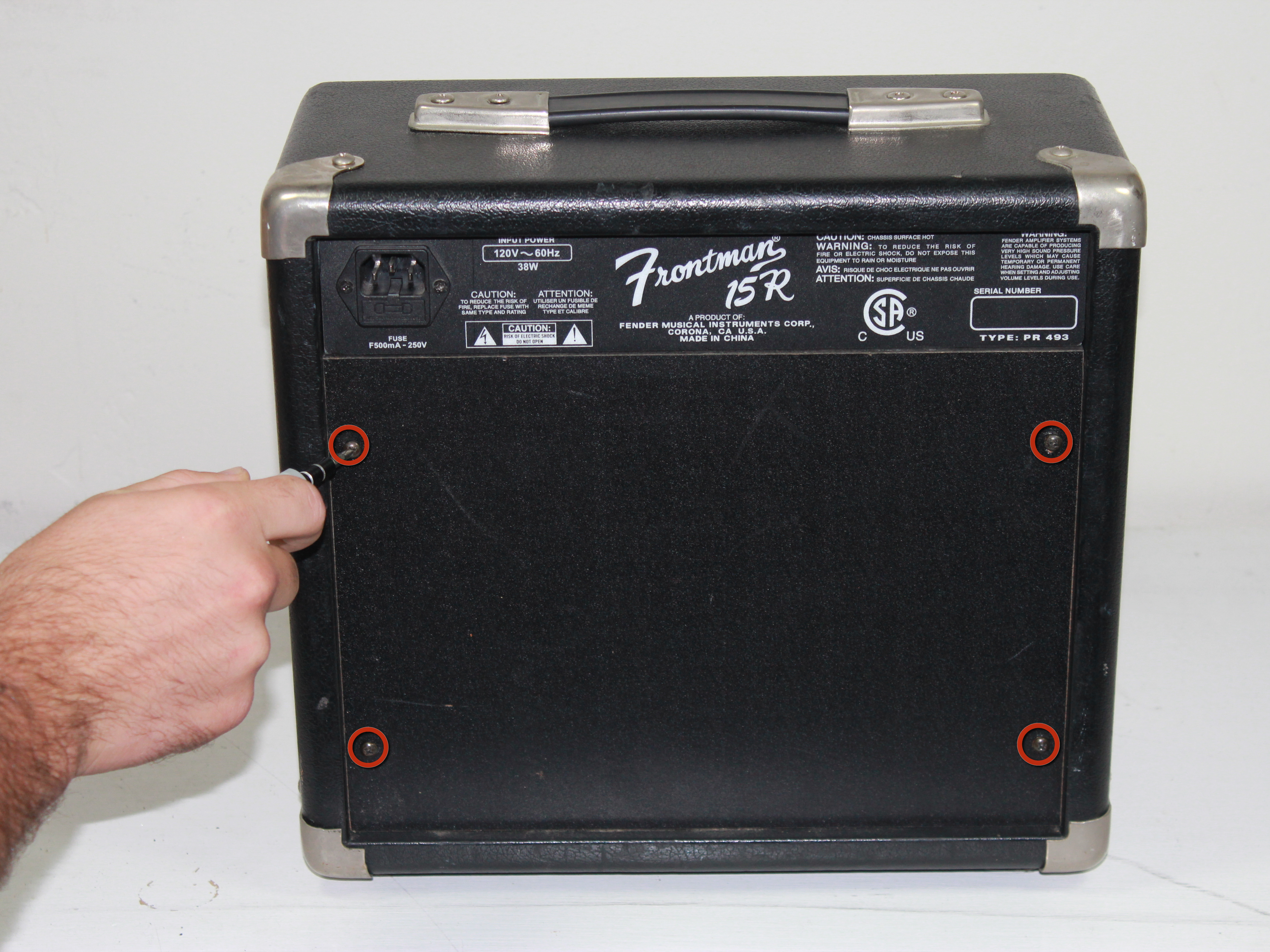 how to fix input jack on a fender frontman 15r ifixit repair guide rh ifixit com squier sp 10 amp manual squier sp 10 amp manual