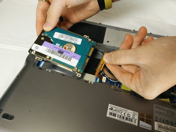 Samsung Series 5 Ultrabook Hard Drive Replacement