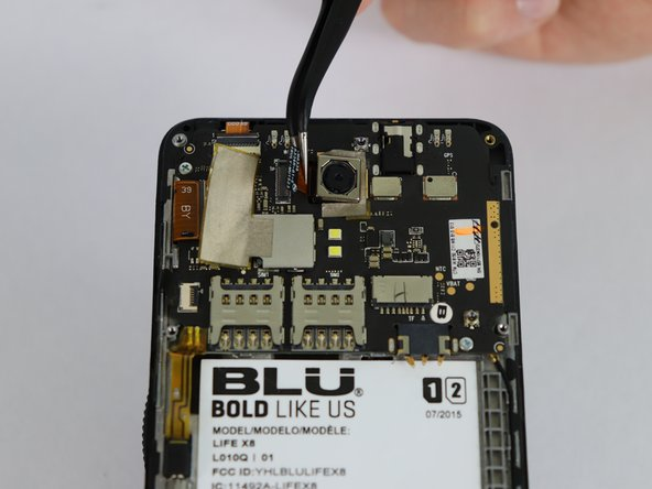 BLU Life X8 Back Camera Replacement