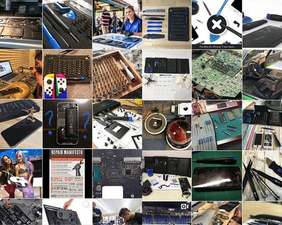 Repair photos from the Instagram repair community