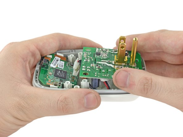 Remove the power board from the device.