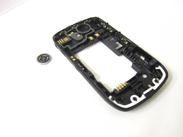 Using tweezers, remove speaker from phone.