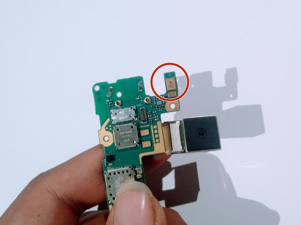 Nokia Lumia 930 Microphone Removal