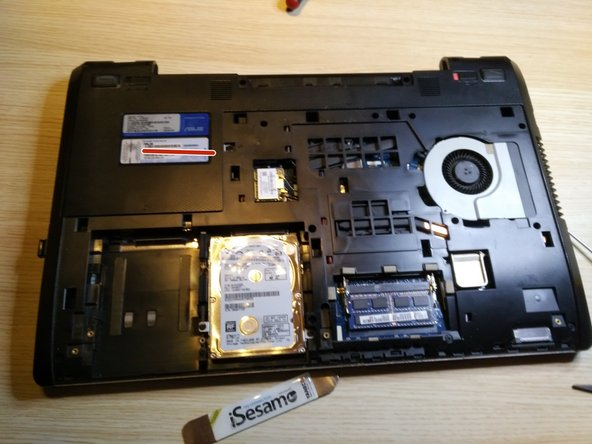 remove the big cover , removing 3 screws