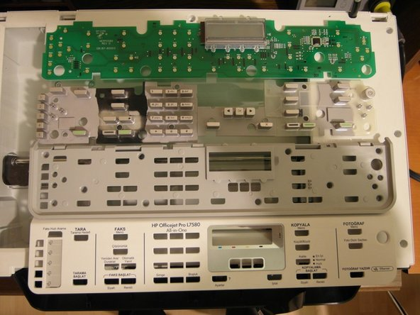 Image 3/3: Then, we will see the 4 layers of the control panel.