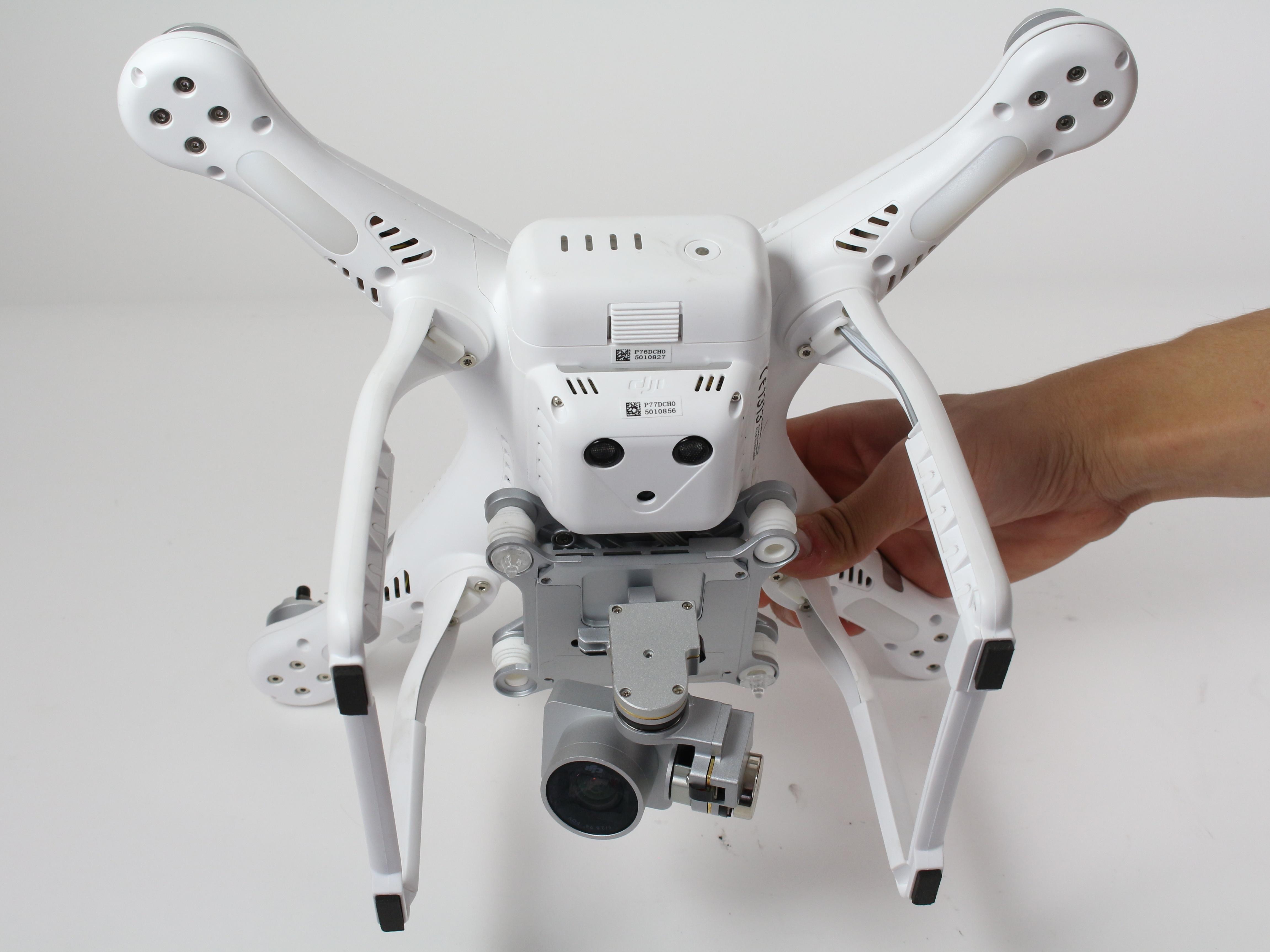 Dji Phantom 3 Advanced Repair Ifixit Quadcopter Gimbal Wiring Diagram Motor Replacement