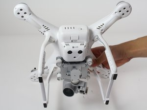DJI Phantom 3 Advanced Motorentausch