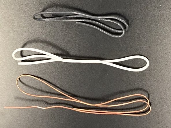 Cut all damaged wires and trim to proper length (1/2-inch of bare wire each end).