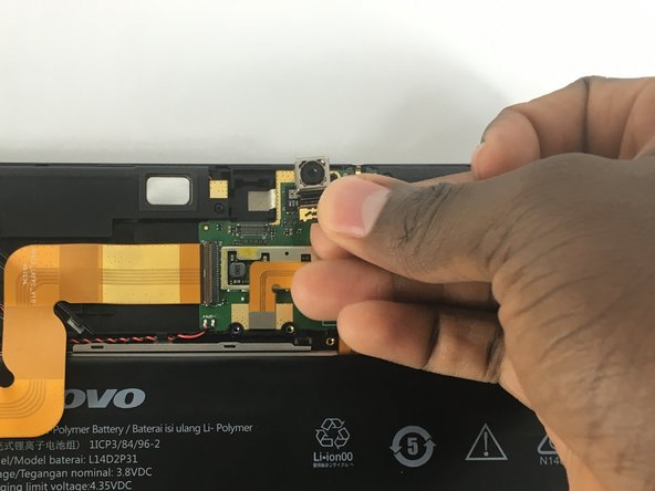 Lenovo Tab 2 A10-70 Rear Facing Camera  Replacement