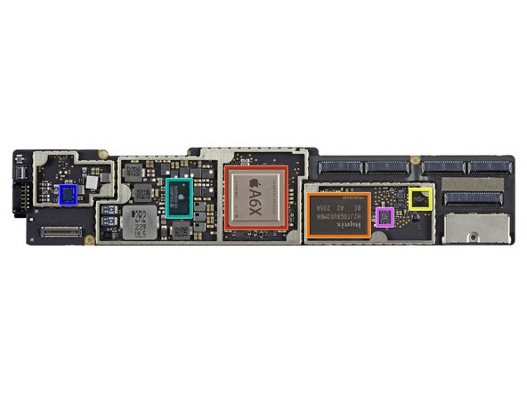 Image 1/1: Apple A6X Processor
