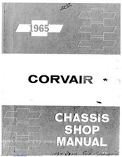 1965 Chevrolet Corvair Service Manual