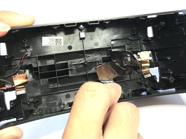 After removed the PCB, you can see the front camera sensor compartment.