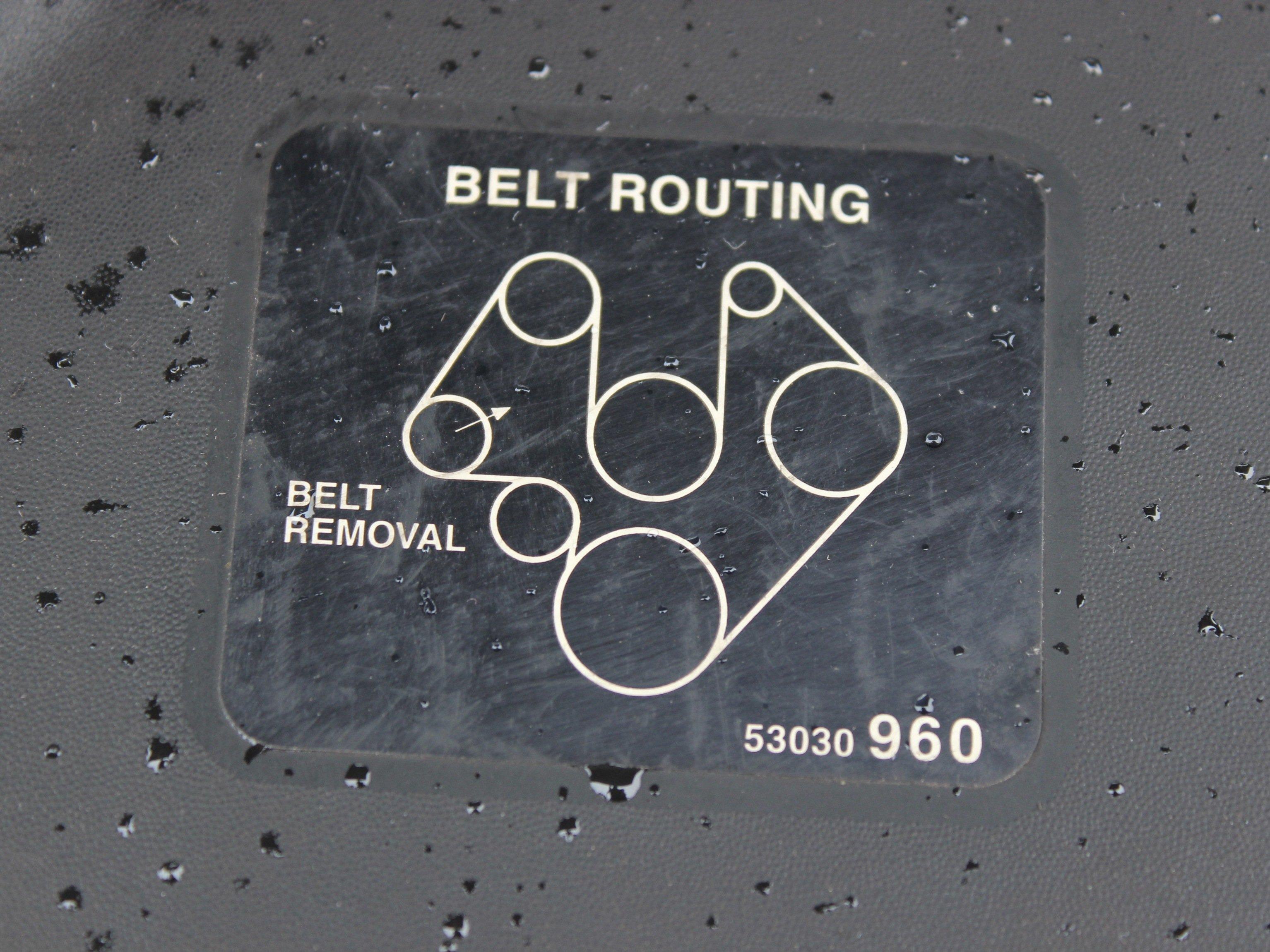 2003 Jeep Grand Cherokee Serpentine Belt Replacement Ifixit Repair Guide