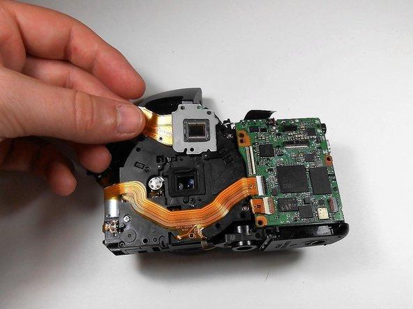 Pull the sensor away.