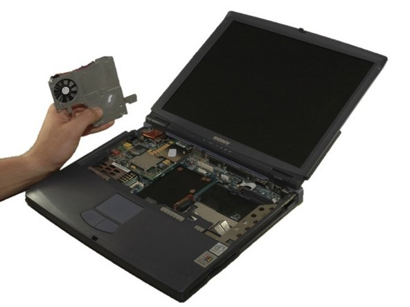 Sony VAIO PCG-933A Thermal Paste Replacement - iFixit