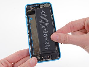 Remplacement de la batterie de l'iPhone 5c